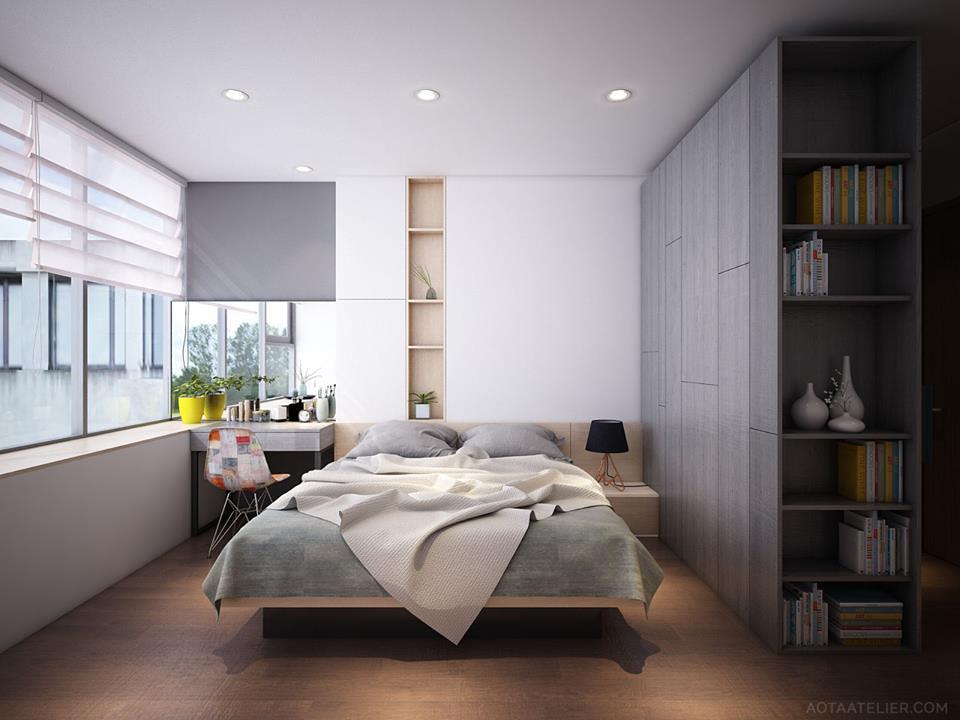 Không gian mở linh hoạt bên trong căn hộ chung cư Capital Garden - Nhà Đẹp Số (8)