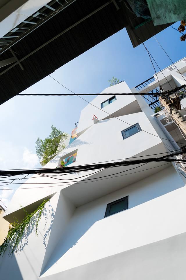 Kỳ lạ công trình nhà phố với hình ảnh nhà chồng nhà ở quận 10 - Nhà Đẹp Số (6)