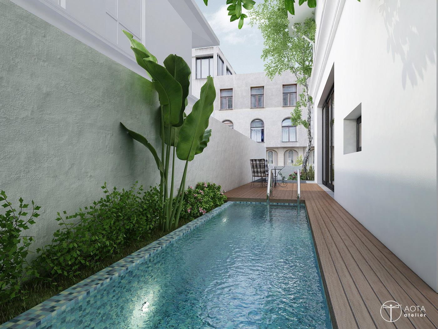 Mẫu thiết kế biệt thự tân cổ điển đẹp mê mẩn ở khu Vườn Tùng Villa Ecopark - Nhà Đẹp Số (7)