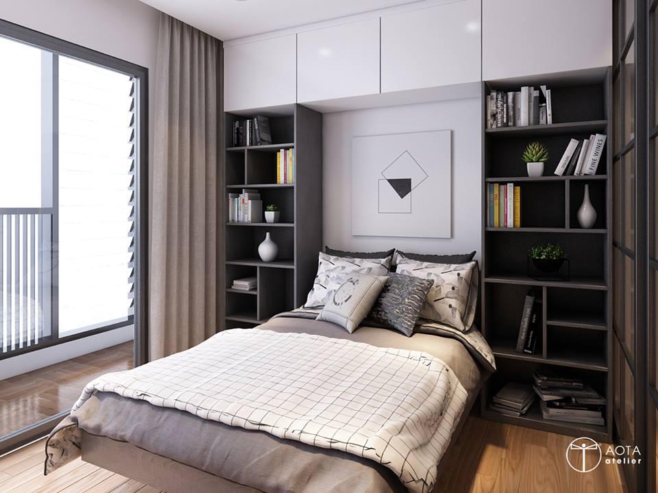 Nội thất căn hộ 90m2 đậm hơi thở vintage - Nhà Đẹp Số (14)