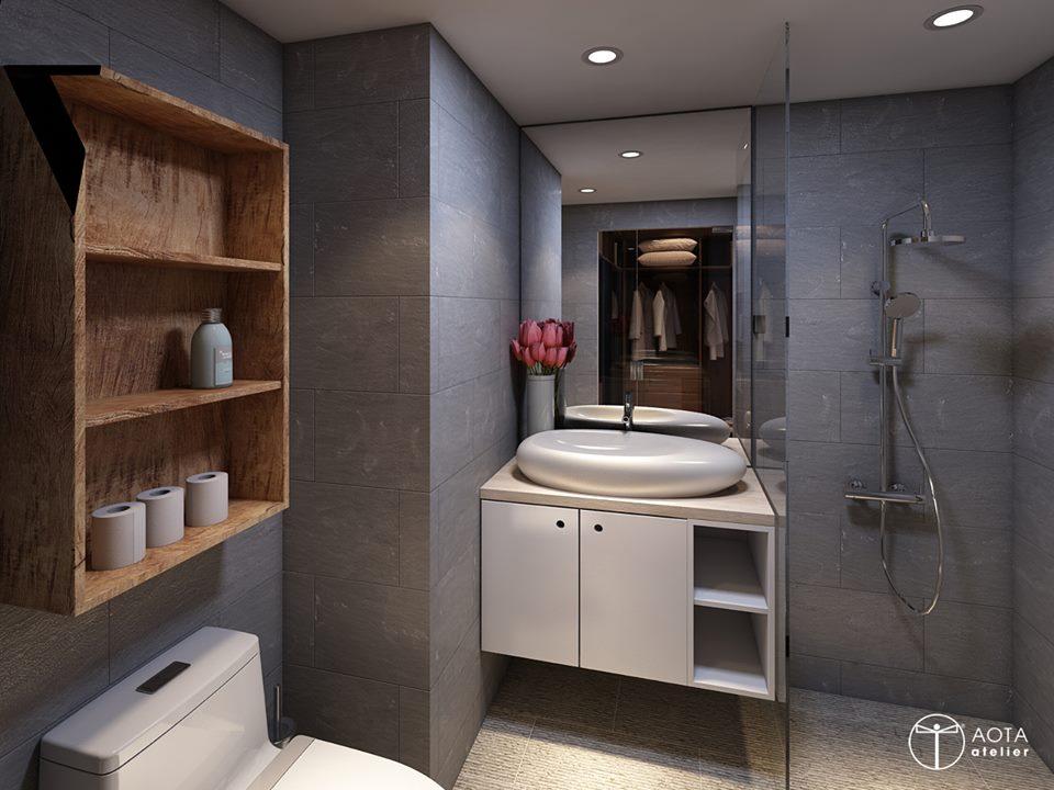 Nội thất căn hộ 90m2 đậm hơi thở vintage - Nhà Đẹp Số (9)