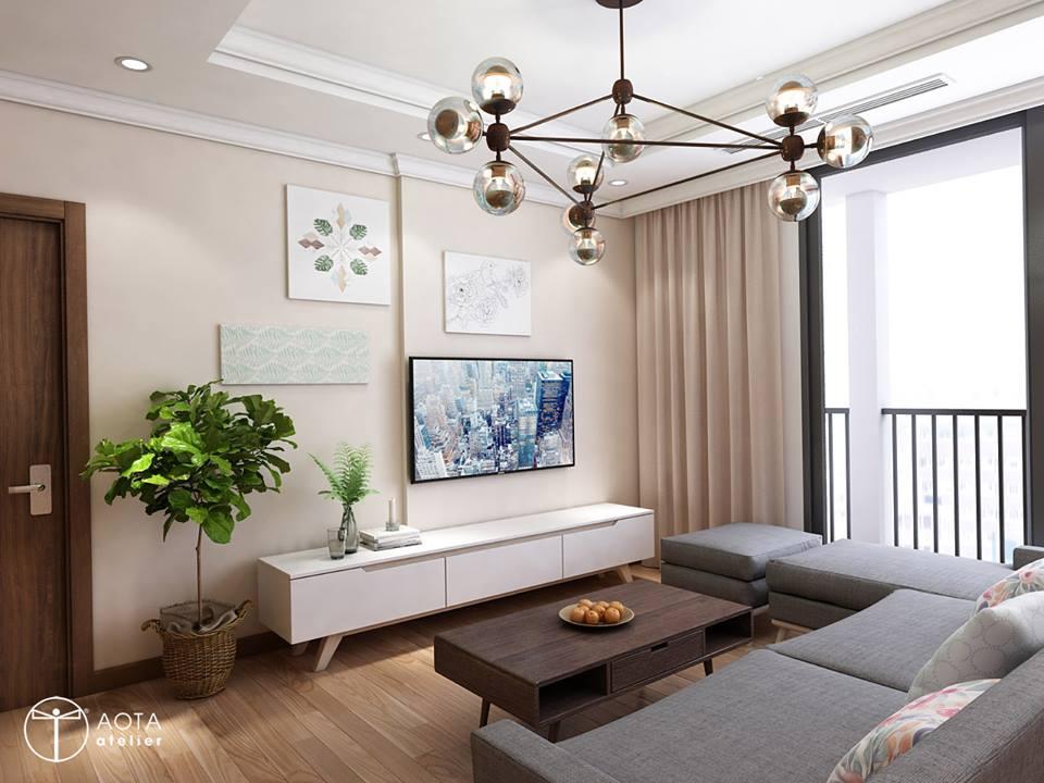 Phong cách nội thất hiện đại trong căn hộ 4 phòng ngủ chung cư Park Hill Premium - Nhà Đẹp Số (1)