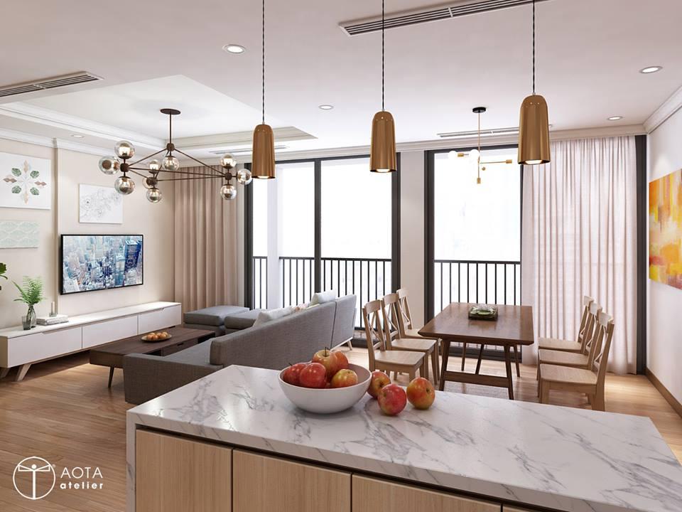 Phong cách nội thất hiện đại trong căn hộ 4 phòng ngủ chung cư Park Hill Premium - Nhà Đẹp Số (10)