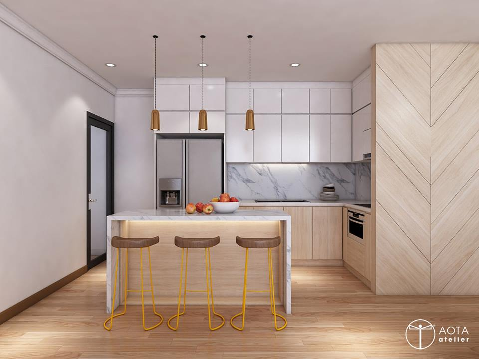 Phong cách nội thất hiện đại trong căn hộ 4 phòng ngủ chung cư Park Hill Premium - Nhà Đẹp Số (8)