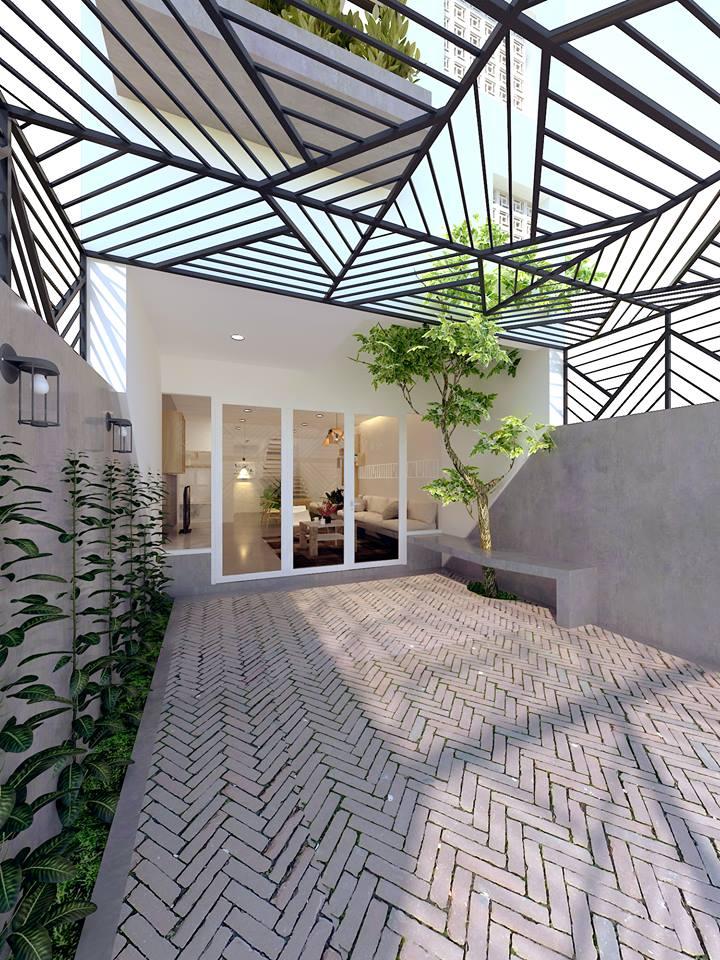 Thiết kế nhà phố 3 tầng gia đình anh Hậu ở Đồng Tháp - Nhà Đẹp Số (3)