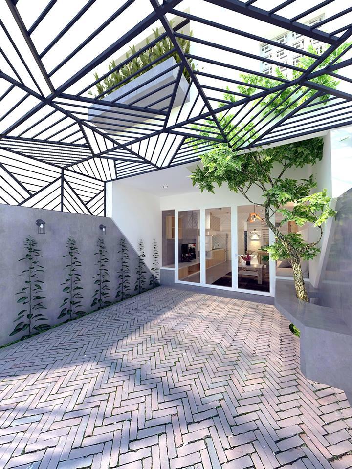 Thiết kế nhà phố 3 tầng gia đình anh Hậu ở Đồng Tháp - Nhà Đẹp Số (4)