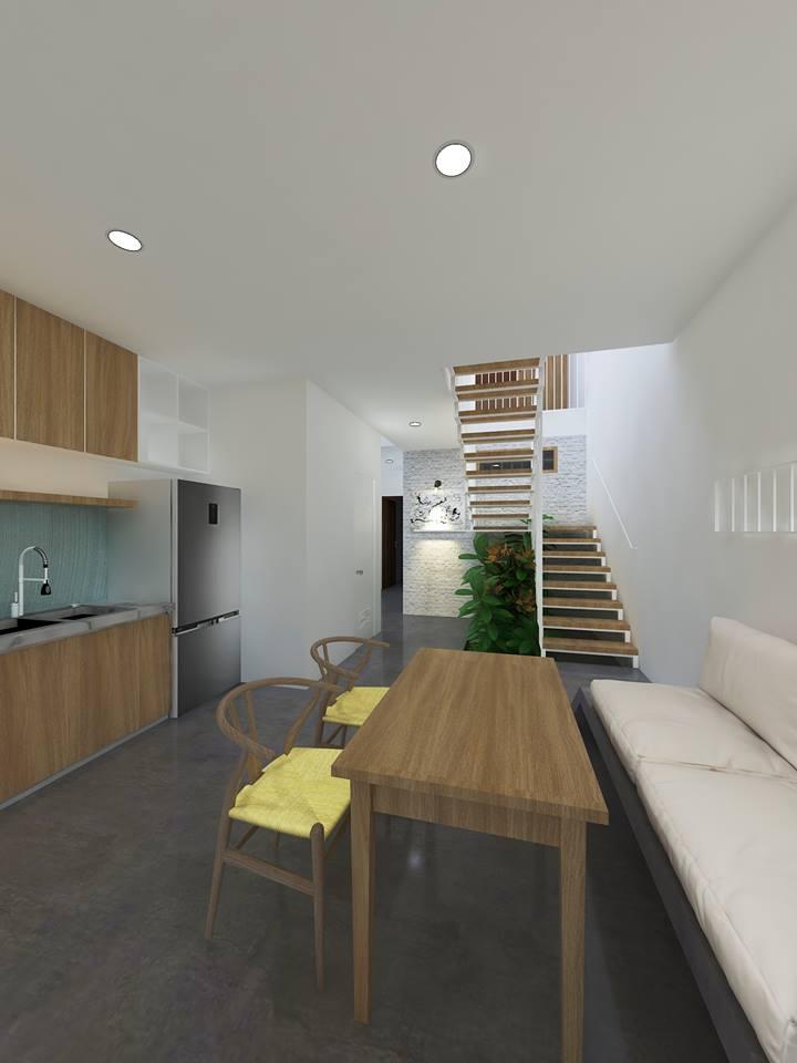 Thiết kế nhà phố 3 tầng gia đình anh Hậu ở Đồng Tháp - Nhà Đẹp Số (9)