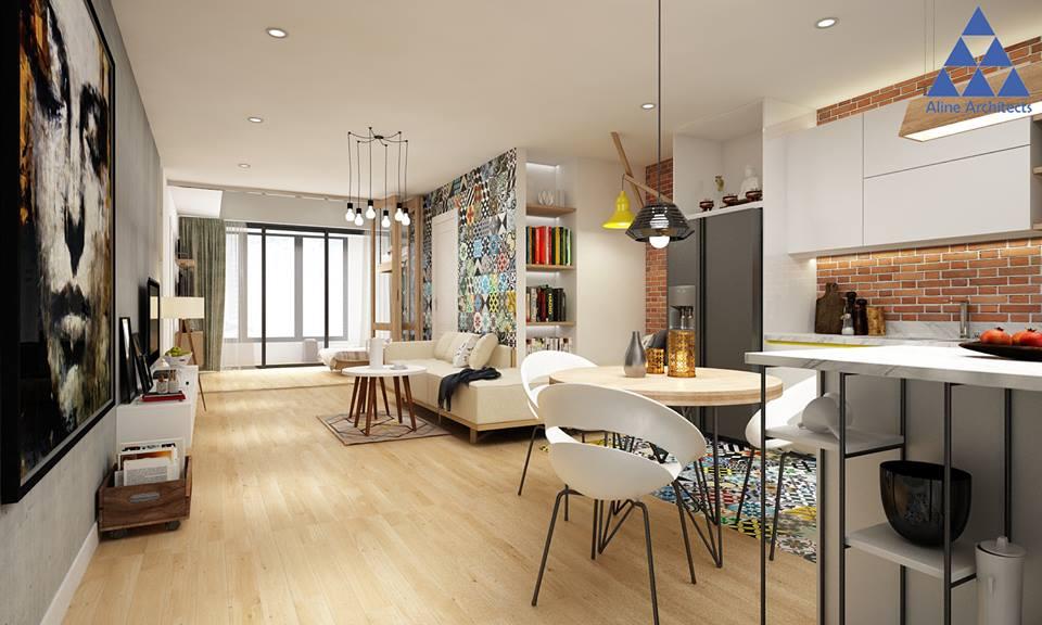 Thiết kế nội thất căn hộ chung cư Ellipse Tower – Anh Dũng - Nhà Đẹp Số (1)
