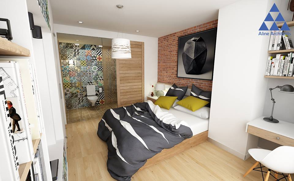 Thiết kế nội thất căn hộ chung cư Ellipse Tower – Anh Dũng - Nhà Đẹp Số (10)