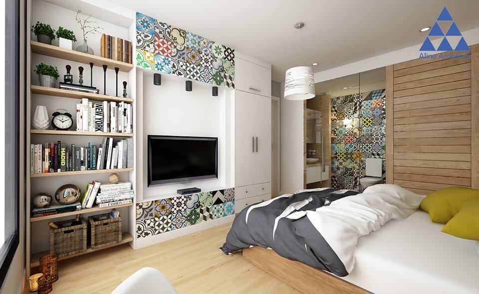 Thiết kế nội thất căn hộ chung cư Ellipse Tower – Anh Dũng - Nhà Đẹp Số (11)