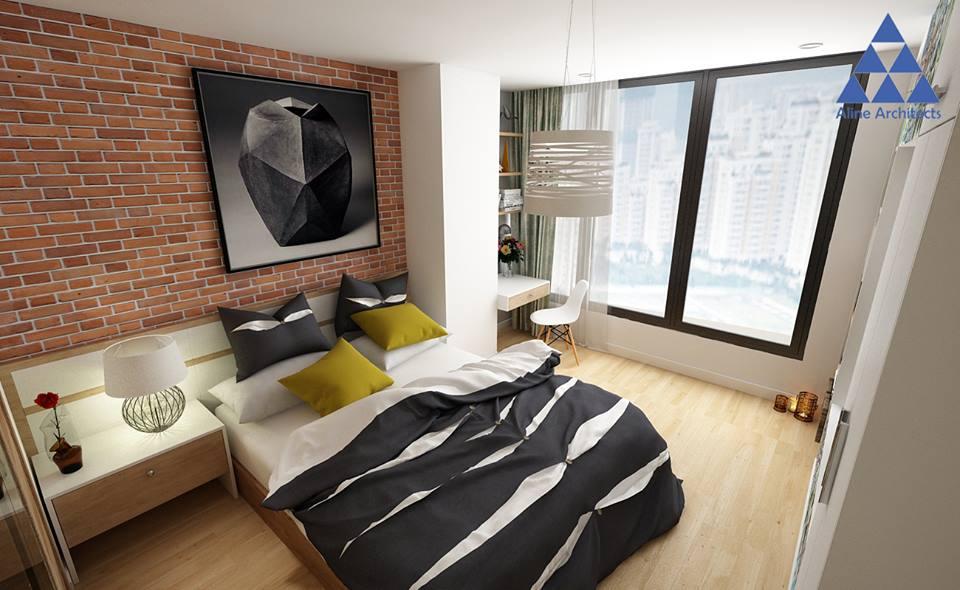 Thiết kế nội thất căn hộ chung cư Ellipse Tower – Anh Dũng - Nhà Đẹp Số (12)