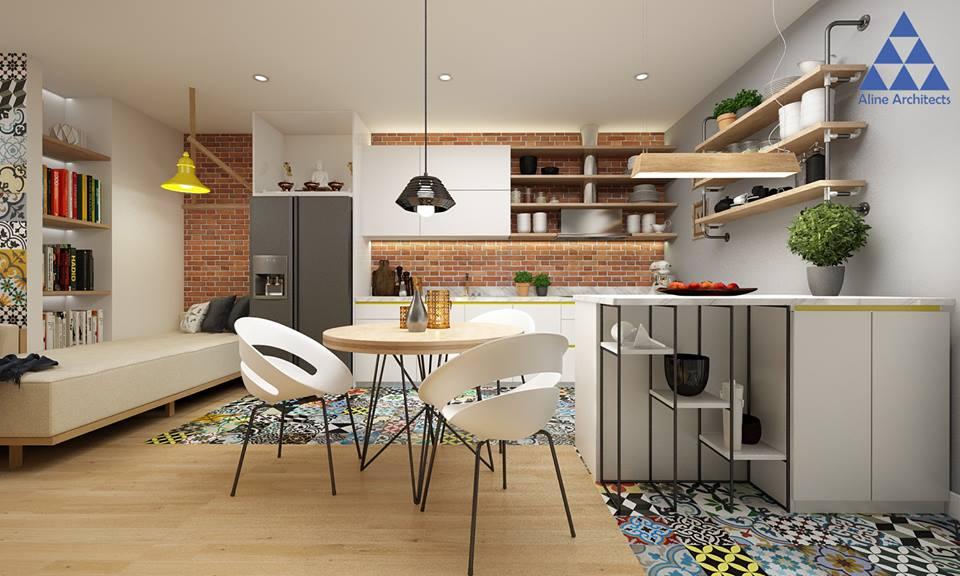 Thiết kế nội thất căn hộ chung cư Ellipse Tower – Anh Dũng - Nhà Đẹp Số (4)