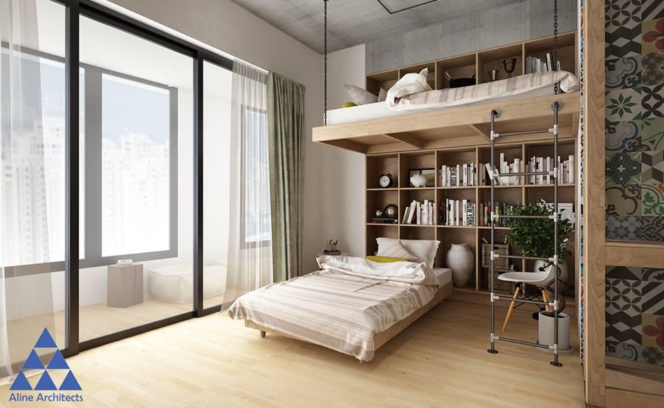 Thiết kế nội thất căn hộ chung cư Ellipse Tower – Anh Dũng - Nhà Đẹp Số (7)