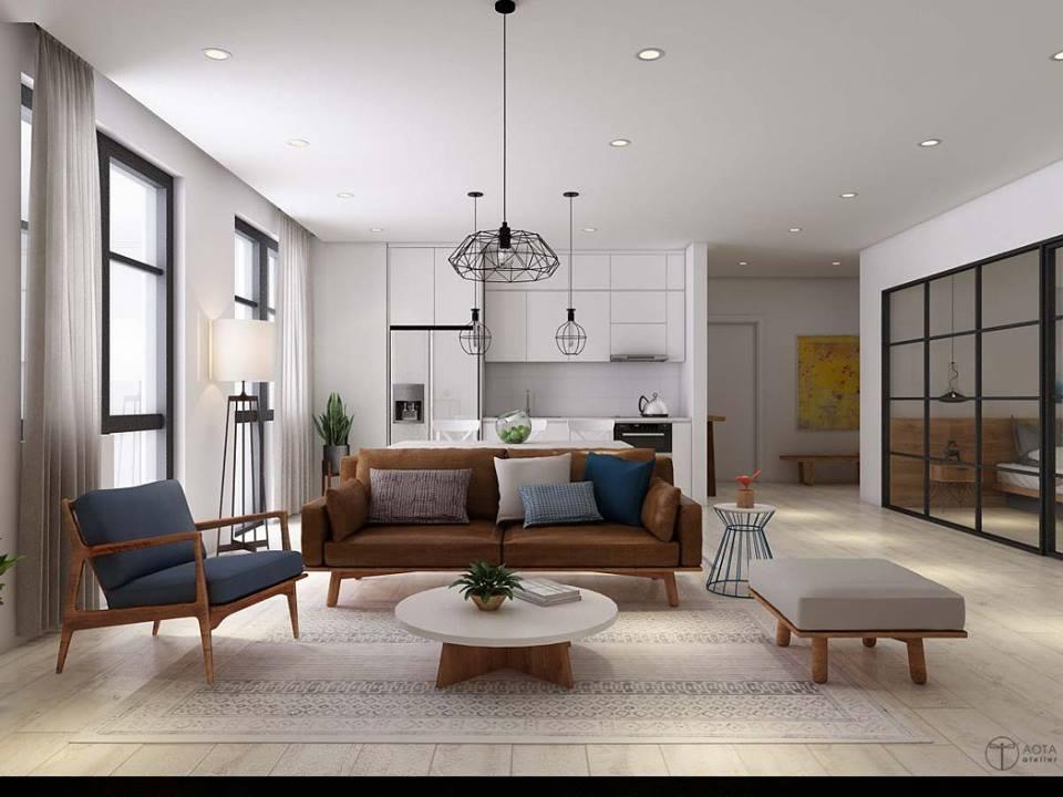 Tinh thần Bắc Âu phóng khoáng trong căn hộ chung cư 15-17 Ngọc Khánh - Nhà Đẹp Số (1)