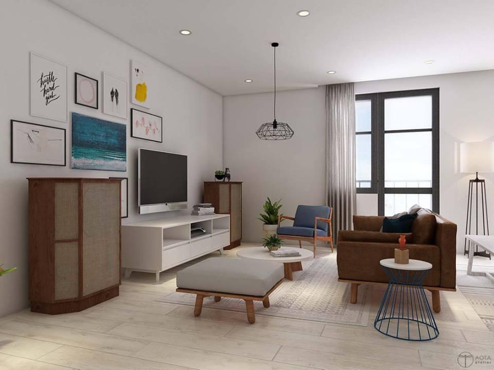 Tinh thần Bắc Âu phóng khoáng trong căn hộ chung cư 15-17 Ngọc Khánh - Nhà Đẹp Số (3)