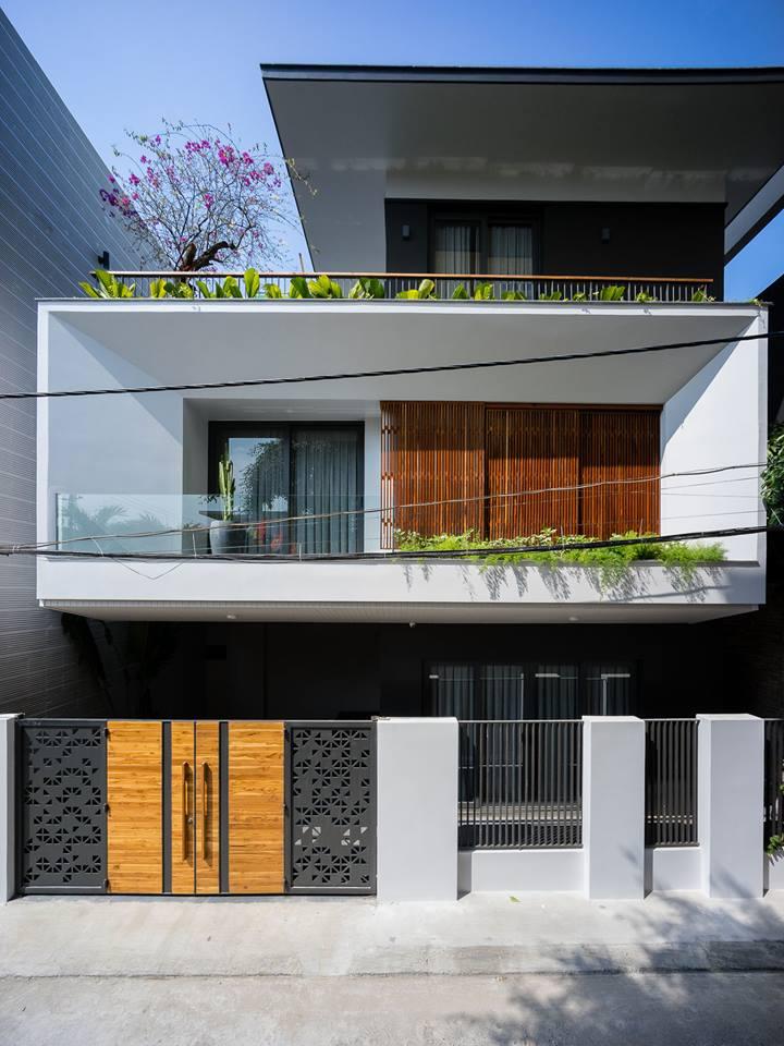 Căn biệt thự 3 tầng hiện đại sang trọng ở Đà Nẵng - Nhà Đẹp Số (1)