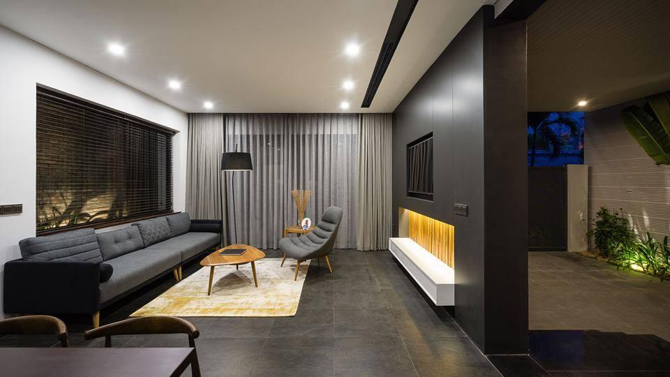 Căn biệt thự 3 tầng hiện đại sang trọng ở Đà Nẵng - Nhà Đẹp Số (3)