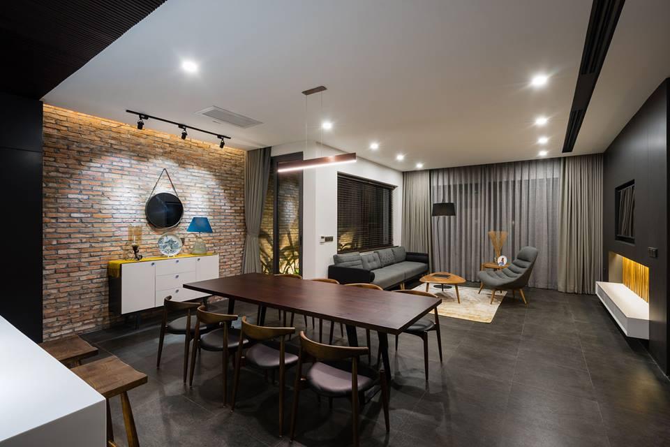 Căn biệt thự 3 tầng hiện đại sang trọng ở Đà Nẵng - Nhà Đẹp Số (4)