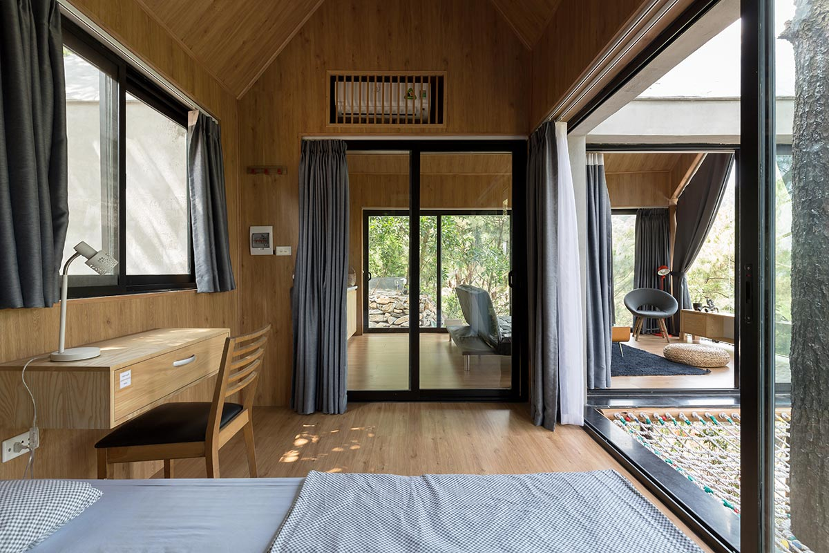 Đẹp ngỡ ngàng ngôi nhà đẹp 1 tầng nằm trên vách đồi thông ở Sóc Sơn - handyman decor - nhà đẹp số 14
