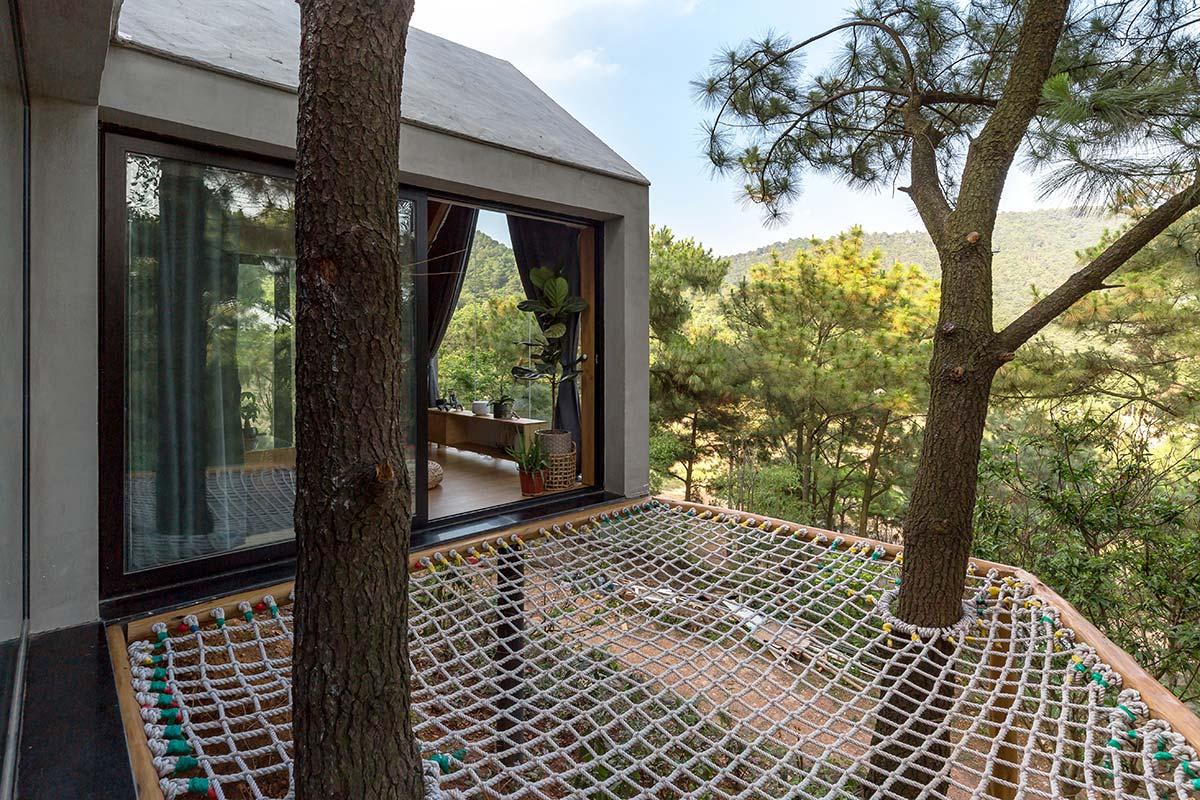 Đẹp ngỡ ngàng ngôi nhà đẹp 1 tầng nằm trên vách đồi thông ở Sóc Sơn - handyman decor - nhà đẹp số 18