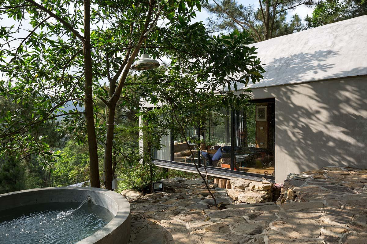 Đẹp ngỡ ngàng ngôi nhà đẹp 1 tầng nằm trên vách đồi thông ở Sóc Sơn - handyman decor - nhà đẹp số 29