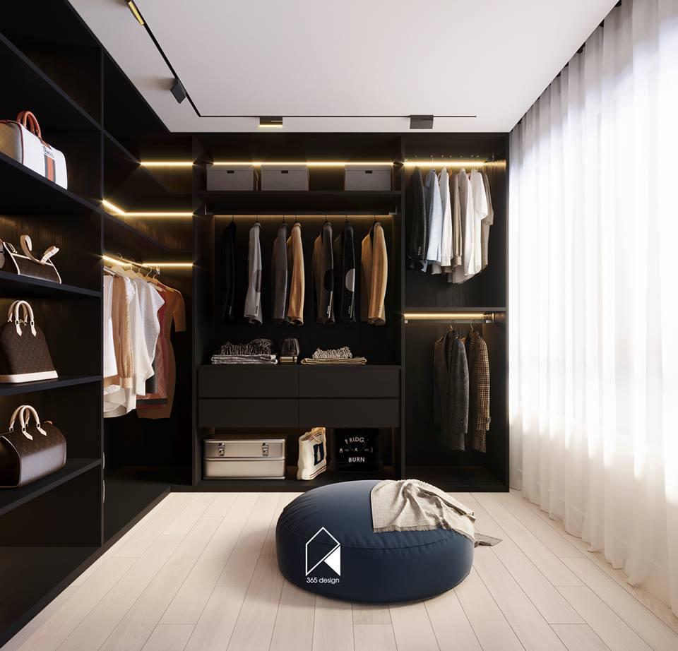 Nội thất căn hộ 150 m2 theo phong cách hiện đại tối giản ở Mễ Trì, Hà Nội - Nhà Đẹp Số (10)