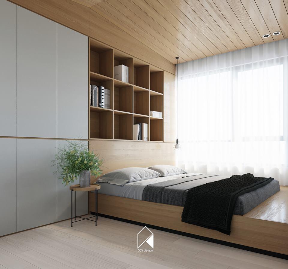 Nội thất căn hộ 150 m2 theo phong cách hiện đại tối giản ở Mễ Trì, Hà Nội - Nhà Đẹp Số (11)