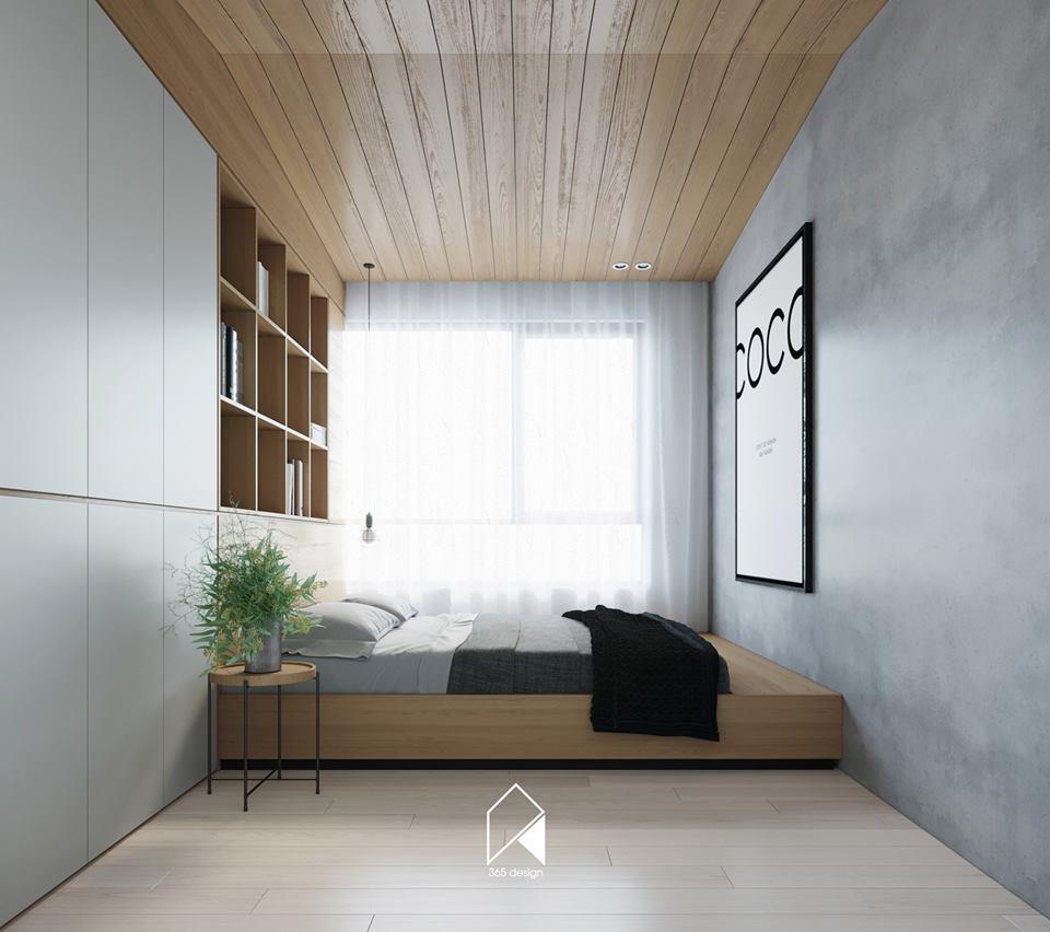 Nội thất căn hộ 150 m2 theo phong cách hiện đại tối giản ở Mễ Trì, Hà Nội - Nhà Đẹp Số (12)