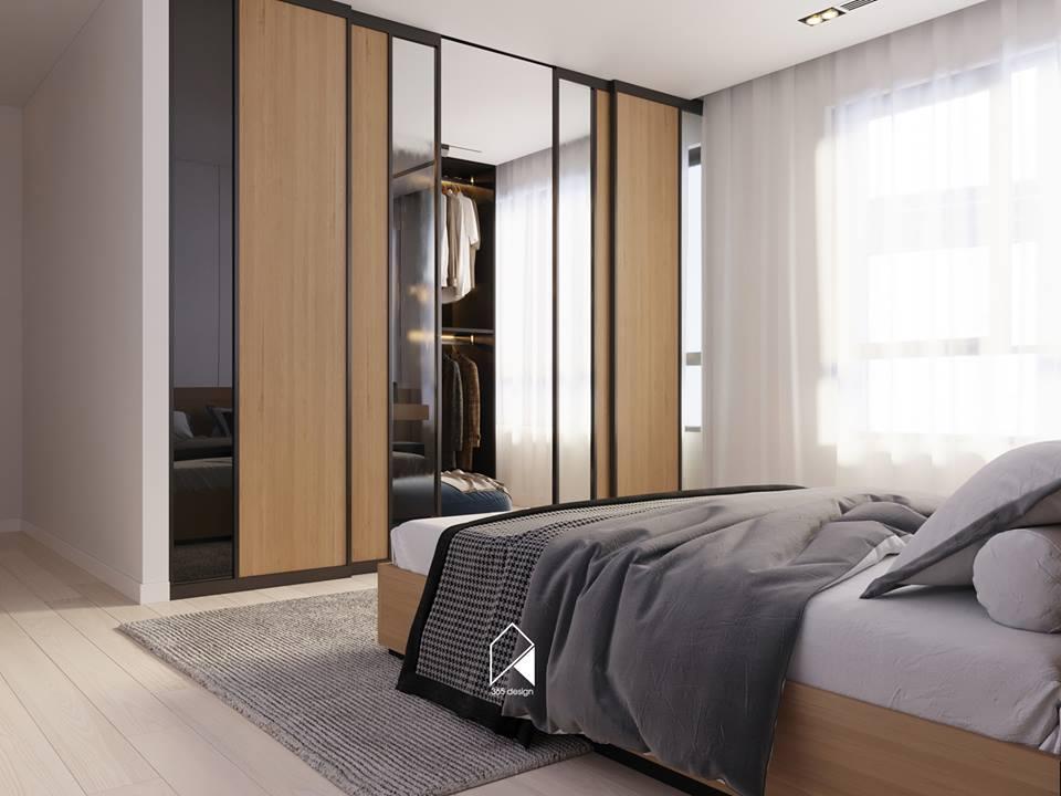 Nội thất căn hộ 150 m2 theo phong cách hiện đại tối giản ở Mễ Trì, Hà Nội - Nhà Đẹp Số (9)