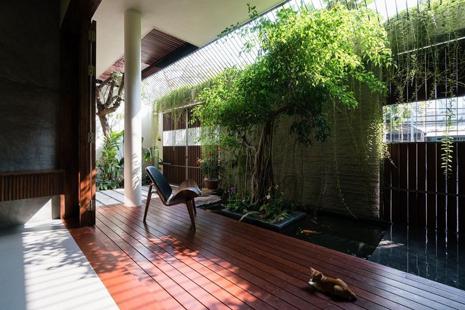 The West House: Nhà phố 4 tầng hướng tây ở Vũng Tàu lên báo ngoại - Nhà Đẹp Số (2)