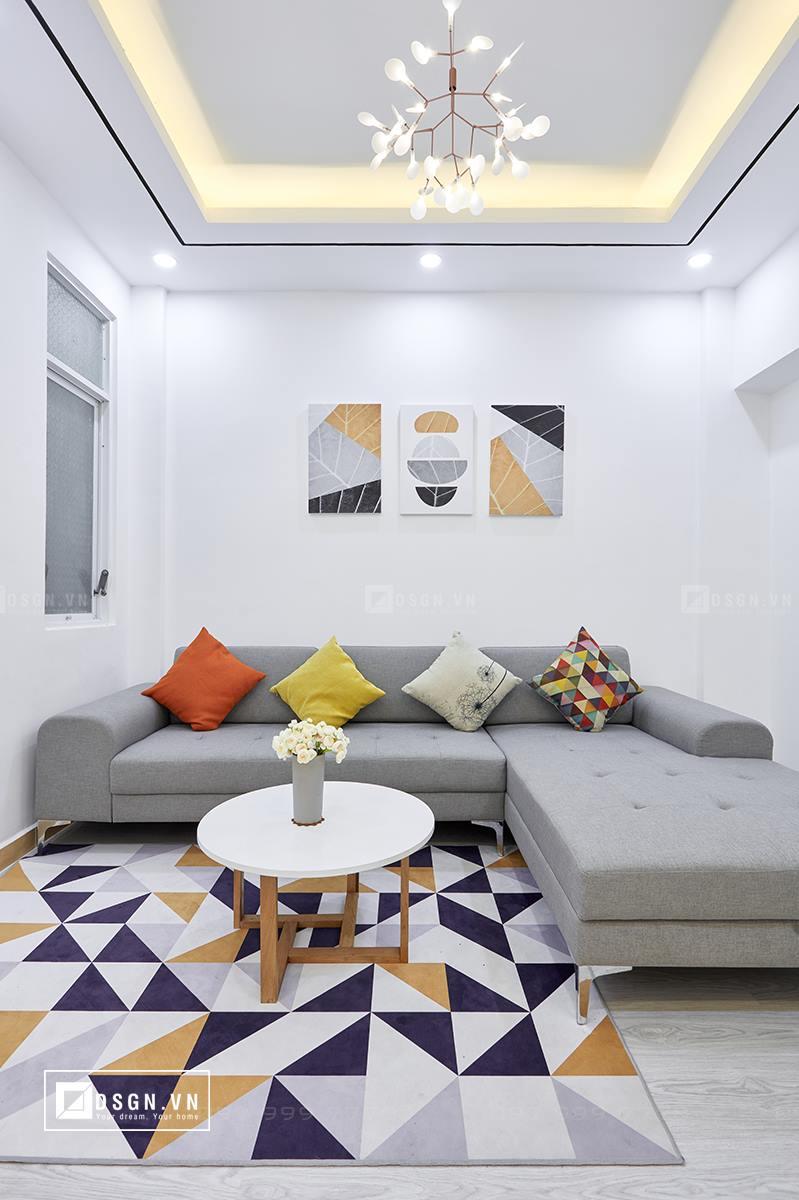 Thiết kế nội thất căn hộ 79m2 theo tinh thần Bắc Âu lãng mạn - Nhà Đẹp Số (1)