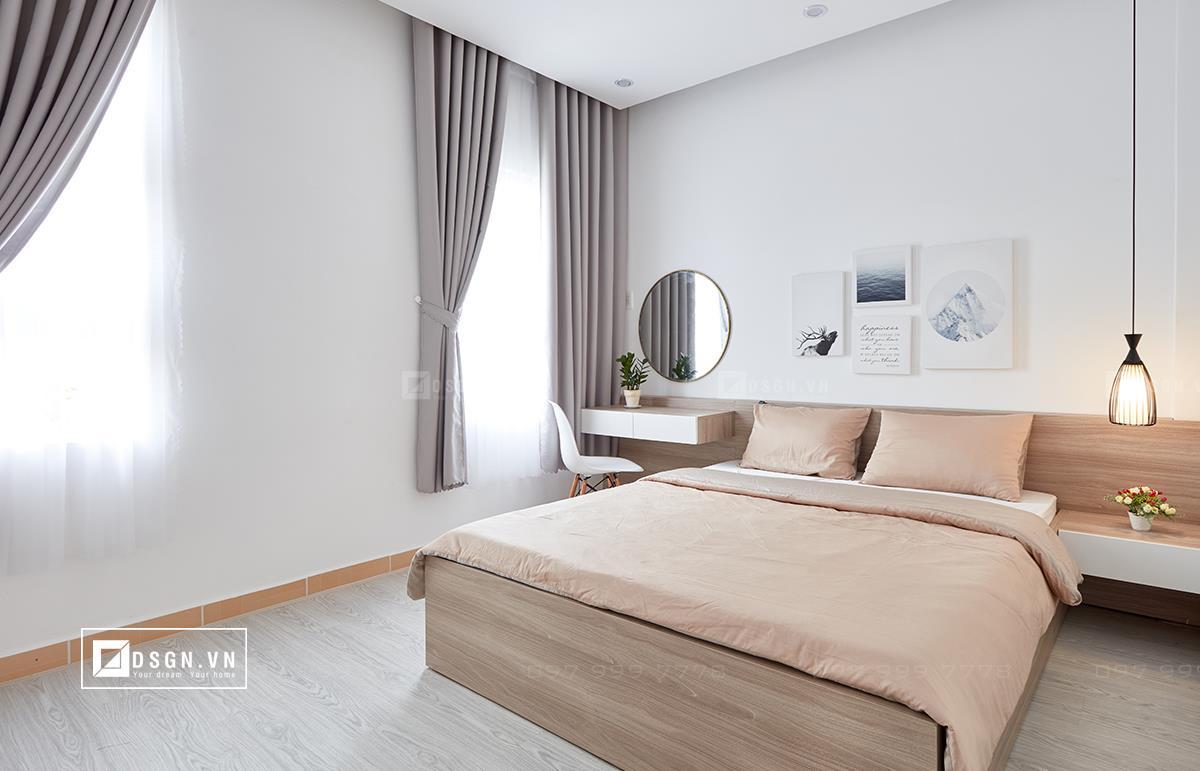Thiết kế nội thất căn hộ 79m2 theo tinh thần Bắc Âu lãng mạn - Nhà Đẹp Số (10)