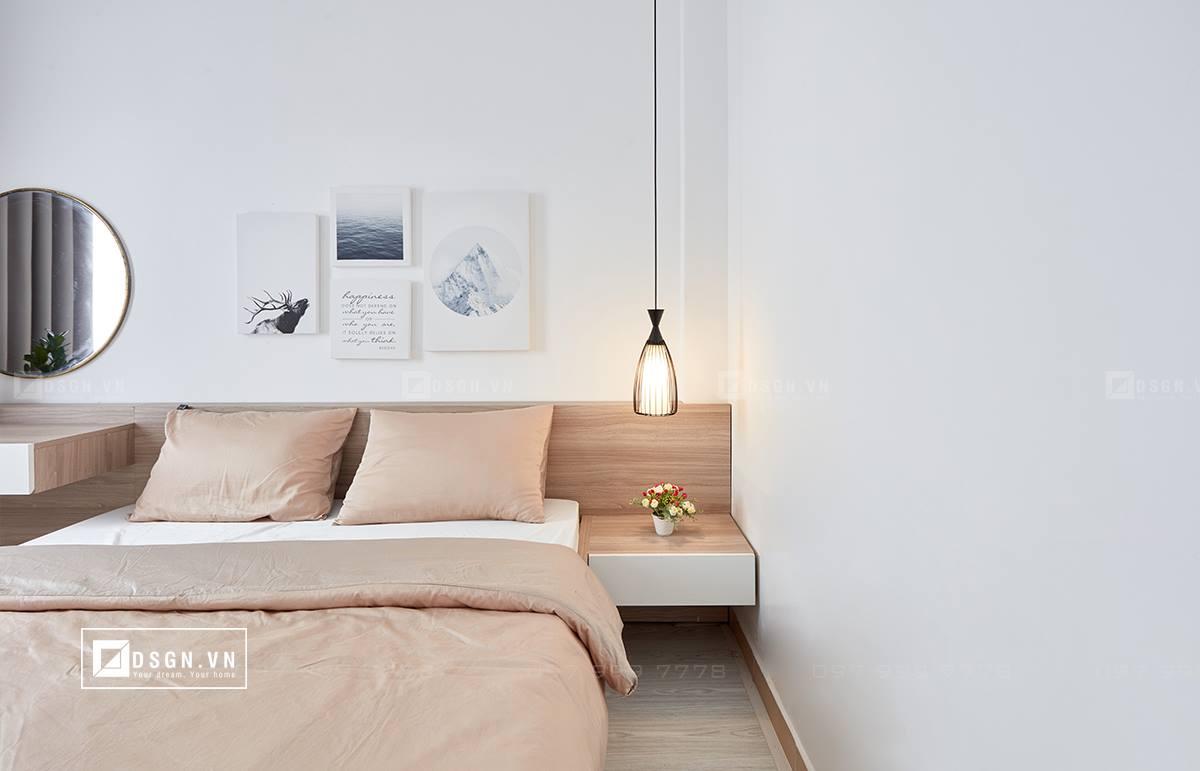 Thiết kế nội thất căn hộ 79m2 theo tinh thần Bắc Âu lãng mạn - Nhà Đẹp Số (11)