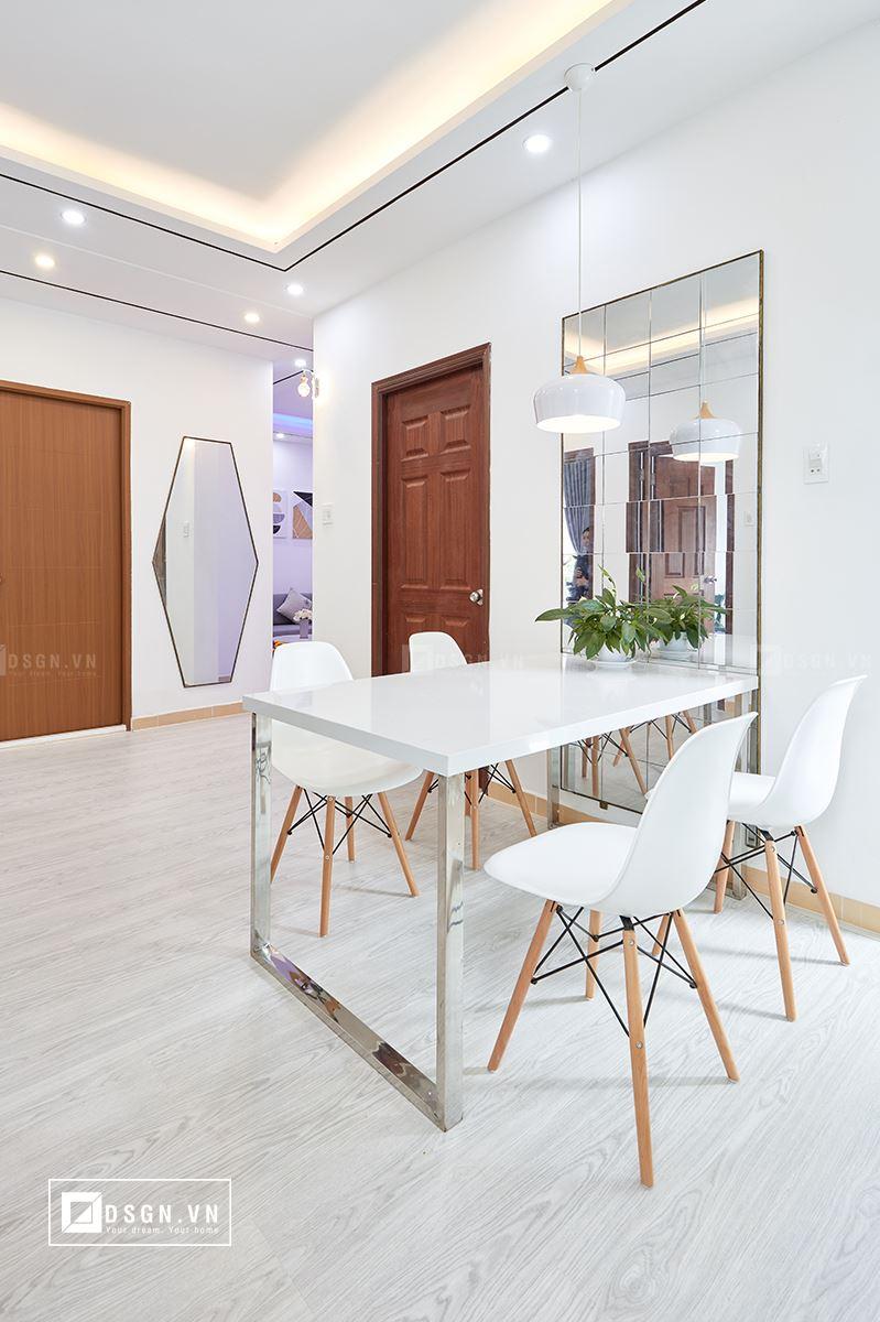 Thiết kế nội thất căn hộ 79m2 theo tinh thần Bắc Âu lãng mạn - Nhà Đẹp Số (2)