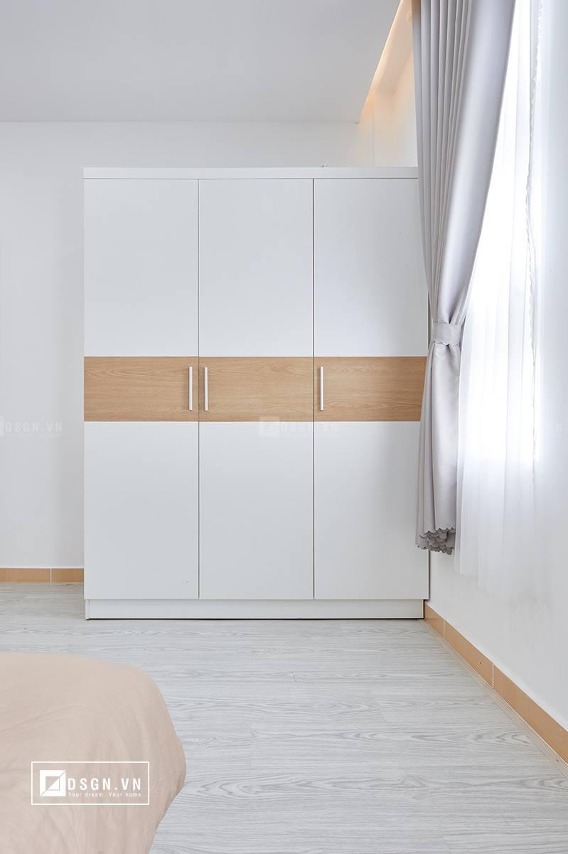 Thiết kế nội thất căn hộ 79m2 theo tinh thần Bắc Âu lãng mạn - Nhà Đẹp Số (25)