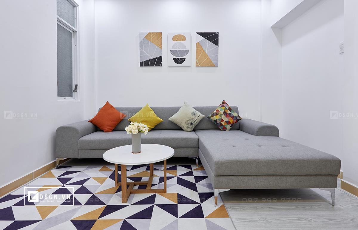 Thiết kế nội thất căn hộ 79m2 theo tinh thần Bắc Âu lãng mạn - Nhà Đẹp Số (4)