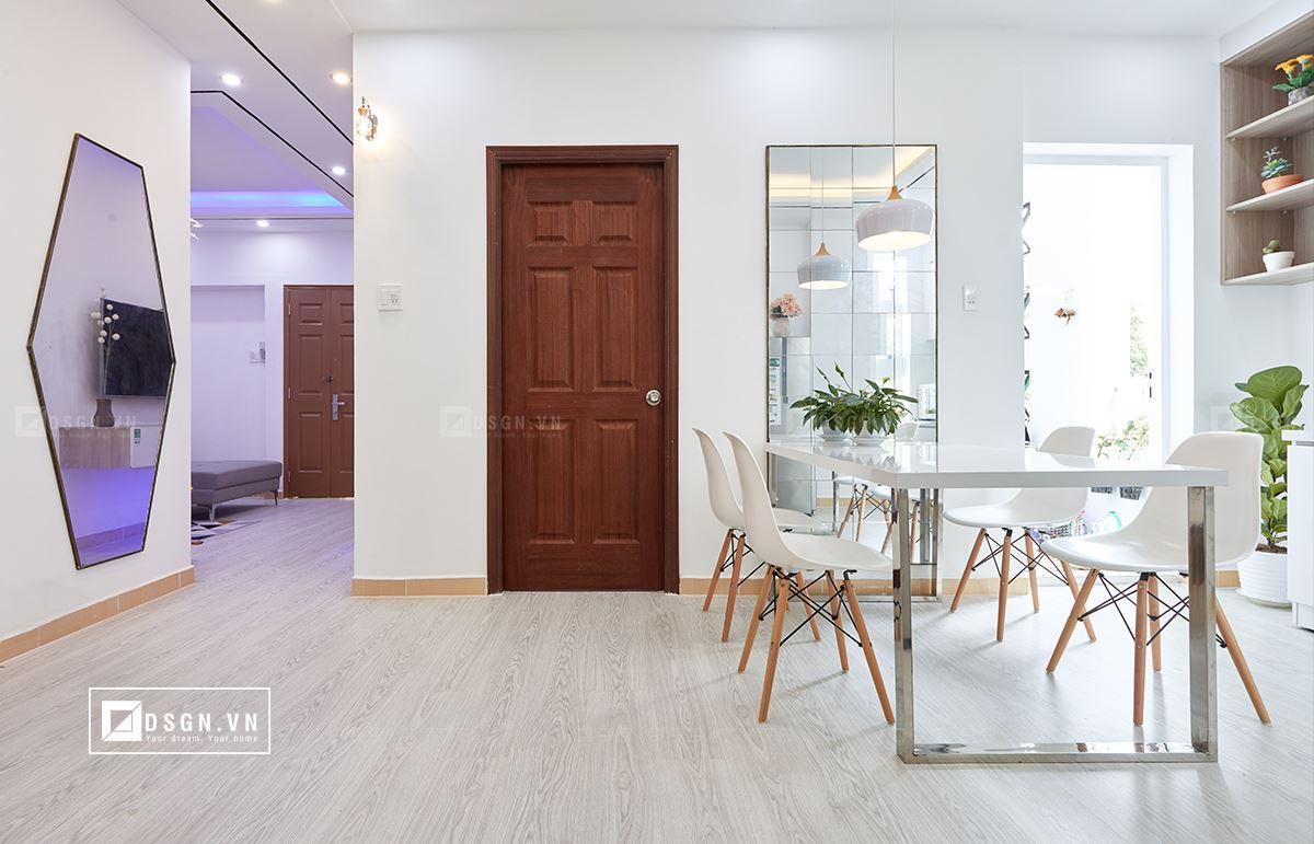 Thiết kế nội thất căn hộ 79m2 theo tinh thần Bắc Âu lãng mạn - Nhà Đẹp Số (6)
