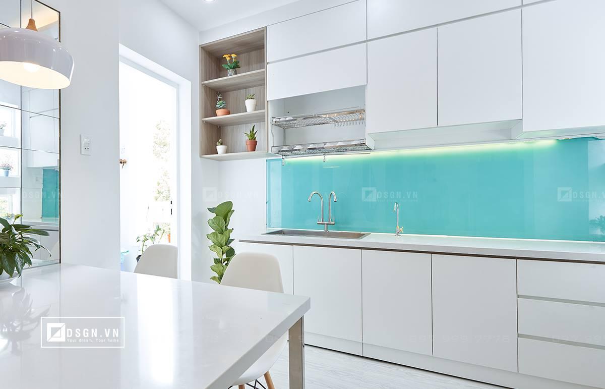 Thiết kế nội thất căn hộ 79m2 theo tinh thần Bắc Âu lãng mạn - Nhà Đẹp Số (8)