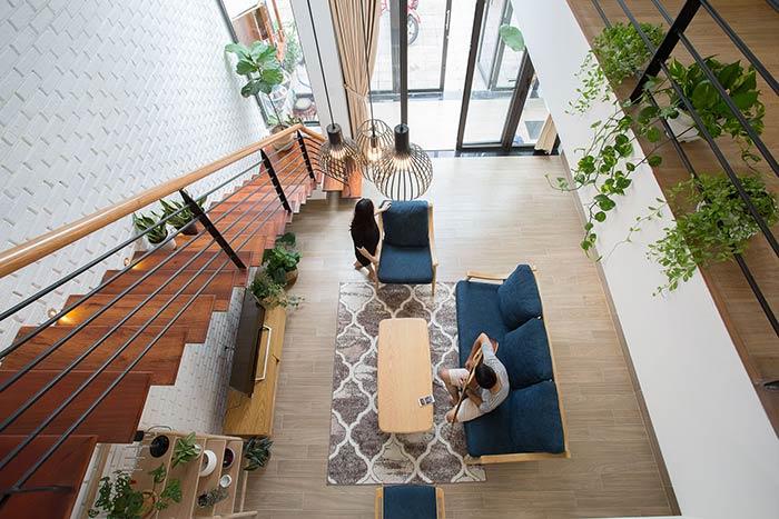 Ấn tượng nhà phố 2 tầng ở Hòa Xuân Đà Nẵng với mặt tiền kính - Nhà Đẹp Số (8)