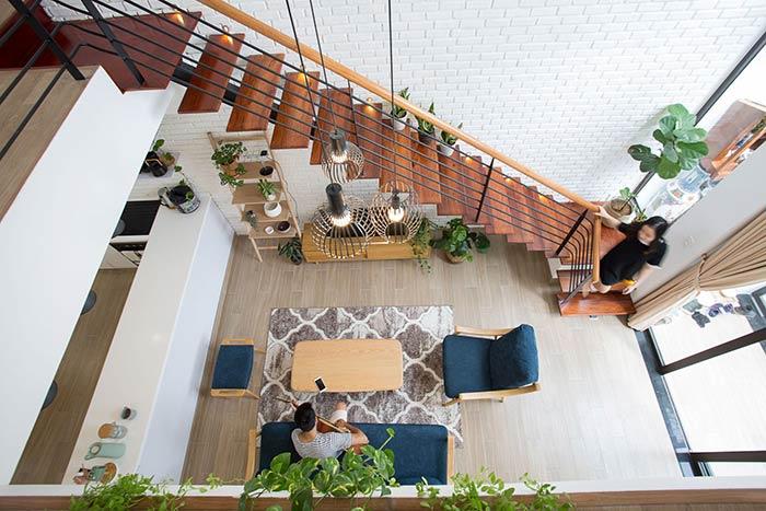 Ấn tượng nhà phố 2 tầng ở Hòa Xuân Đà Nẵng với mặt tiền kính - Nhà Đẹp Số (9)