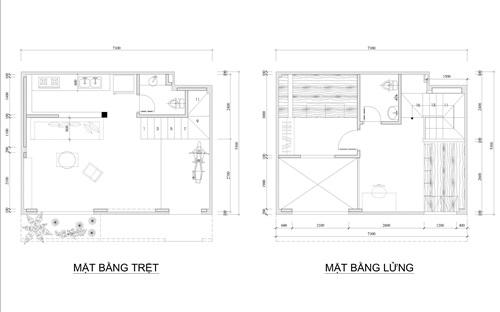 Cải tạo nhà 36m2 trong hẻm nhỏ thành không gian thoáng đãng với chi phí 350 triệu - Nhà Đẹp Số (10)
