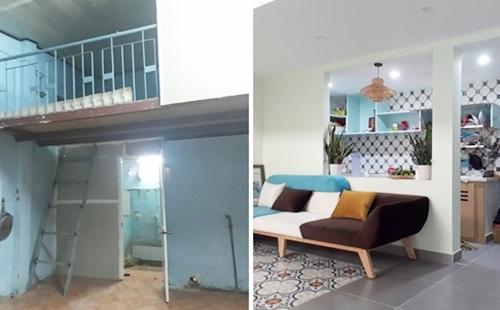 Cải tạo nhà 36m2 trong hẻm nhỏ thành không gian thoáng đãng với chi phí 350 triệu - Nhà Đẹp Số (4)