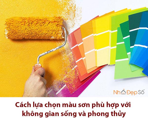 cách chọn màu sơn
