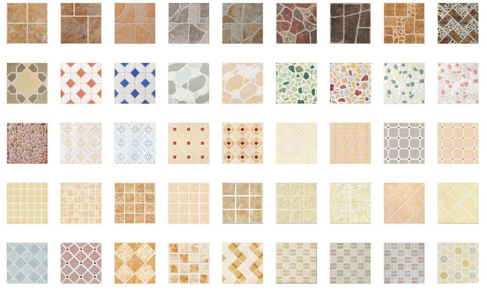 Gạch men rất đa dạng về chủng loại và mẫu mã