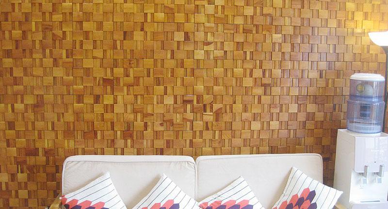 Ứng dụng gạch mosaic ốp phòng ngủ