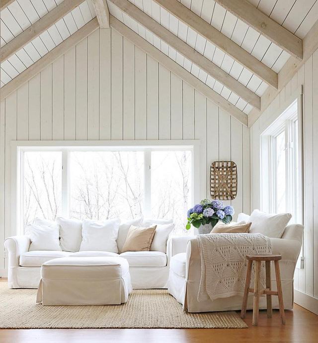 Màu sơn phù hợp với đồ gỗ trắng