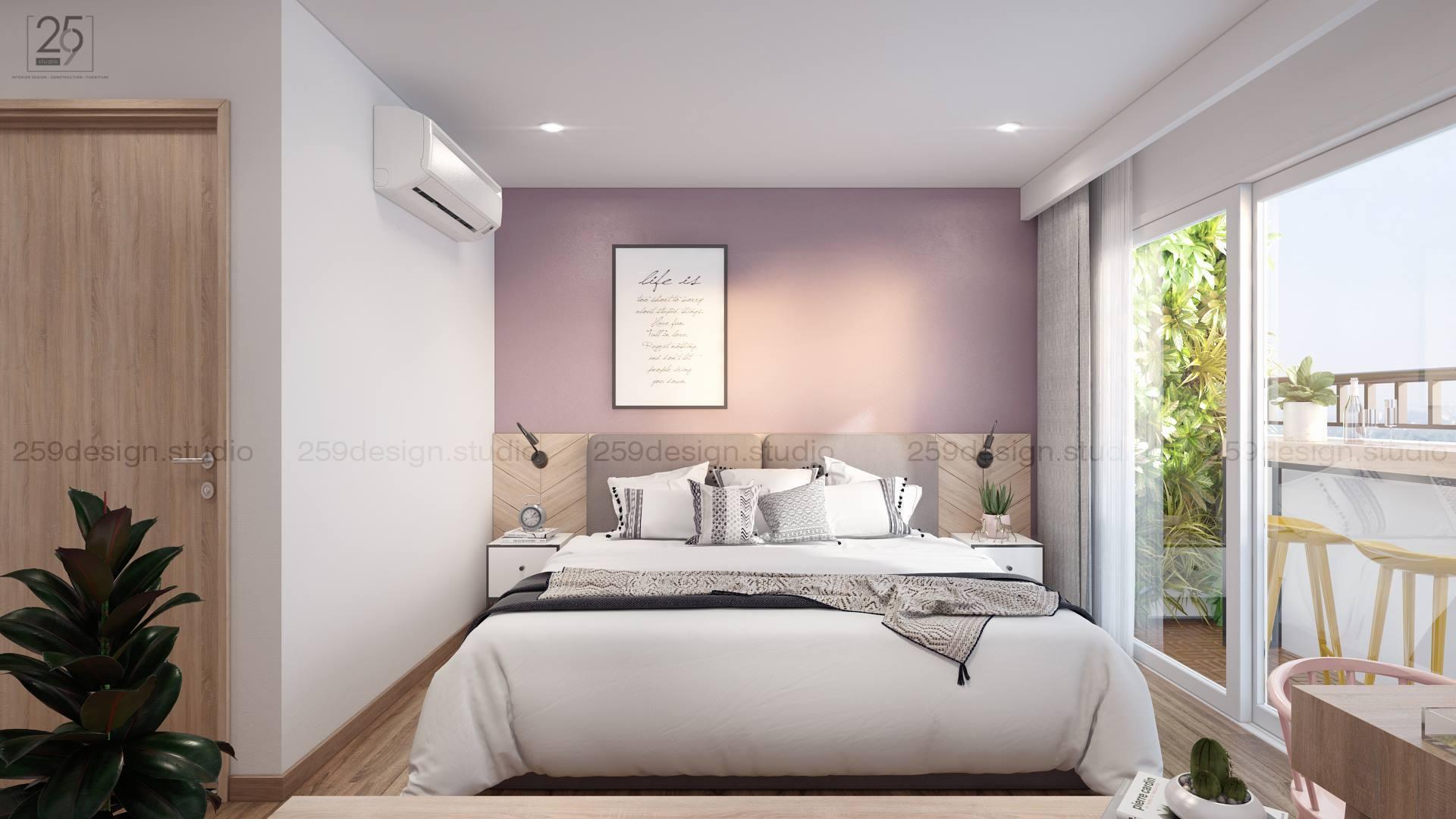 Mẫu thiết kế nội thất căn hộ đẹp với điểm nhấn màu pastel - Nhà Đẹp Số (12)