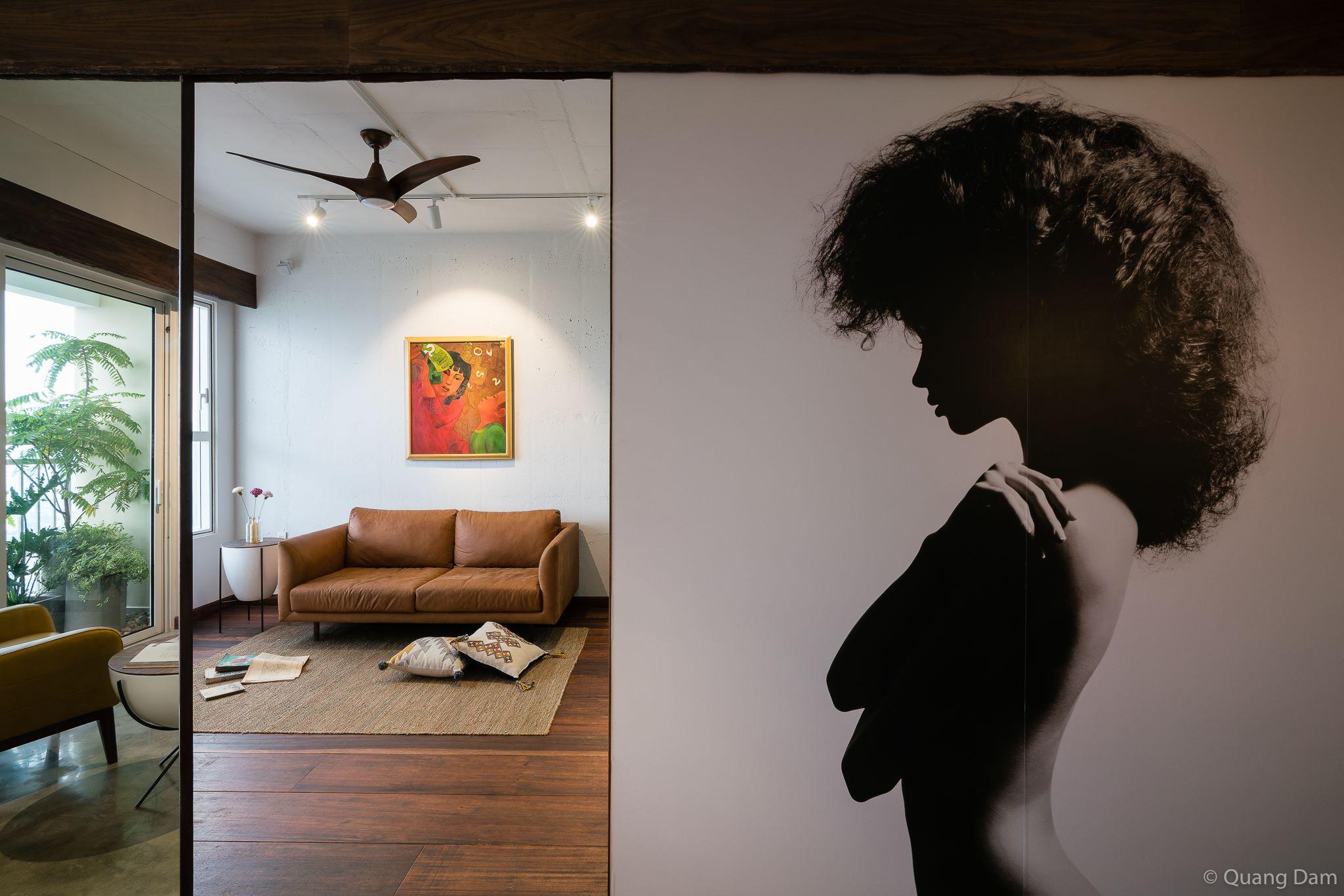 Nội thất căn hộ 1 phòng ngủ với điểm nhấn gỗ và cây xanh - Nhà Đẹp Số (16)