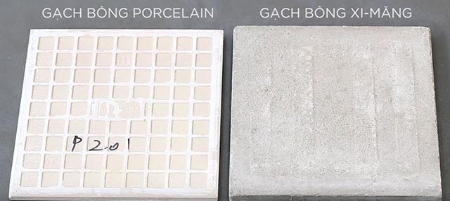So sánh giữa gạch bông Porcelain và gạch bông thủ công - Nhà Đẹp Số 1