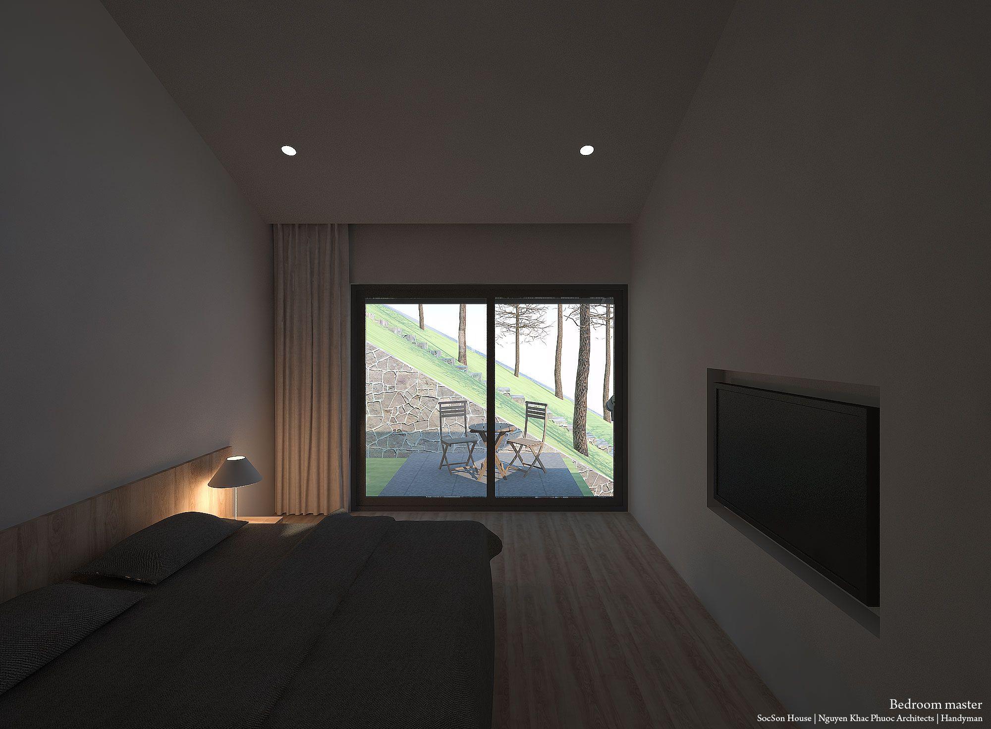 Thiết kế biệt thự đẹp mái chồng mái nằm lưng chừng núi ở Sóc Sơn - Nhà Đẹp Số (17)